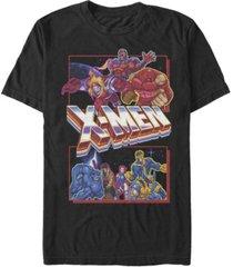 fifth sun men's x-men arcade fight short sleeve crew t-shirt