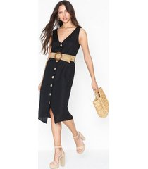 river island linen waisted dress loose fit