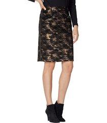 kjol amy vermont svart::brun