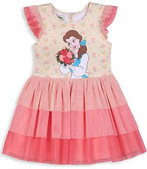 baby girl's belle tiered ruffle dress
