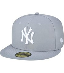 boné new era 59fifty new york yankees cinza
