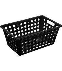 cesta grande preta 10806/0008 - coza - coza