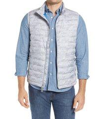 men's peter millar hyperlight camo print vest