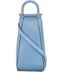 jw anderson one-shoulder backpack - blue