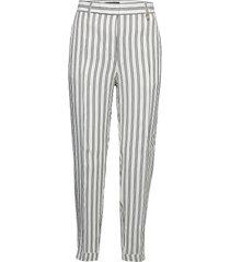legare pantalon met rechte pijpen wit pennyblack