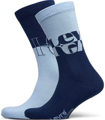 levis unisex mirrored logo regular underwear socks regular socks blå levi´s