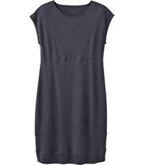 jersey jurk, antraciet 36