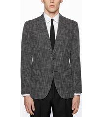 boss men's micro-patterned regular-fit jacket