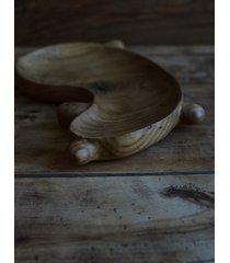 taca misa wykonana ręcznie dębowa