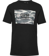 dpm sport tee t-shirts short-sleeved svart björn borg
