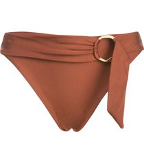 cult gaia lexi bikini bottoms - brown