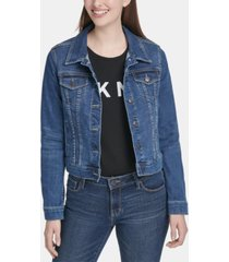 dkny denim trucker jacket