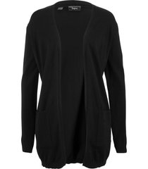 cardigan lungo (nero) - bpc bonprix collection