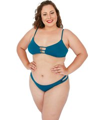 biquíni corpusfit  madison plus size - verde