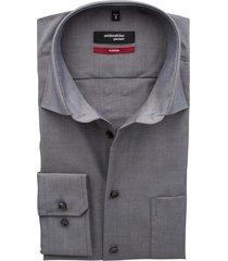 seidensticker modern overhemd antraciet