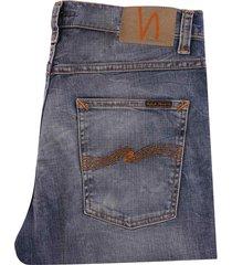 nudie jeans lean dean | broken sage | 113438-sge