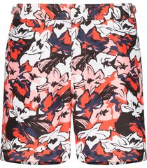orlebar brown bulldog south beach floral print swim shorts - red