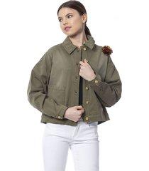 greenmilitary blazer