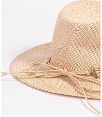 sombrero beige todomoda