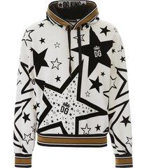 dolce & gabbana millennials star hoodie