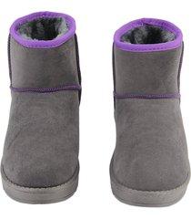 engrosamiento con terciopelo mujer clásico botines de plataforma plana zapatos elástica