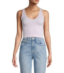 free people women's ribbed brami top - lavender - size xs/s