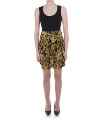 korte jurk versace jeans couture d2 hwa421 s0148