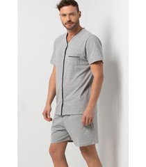 conjunto pijama acuo 2 peças masculino