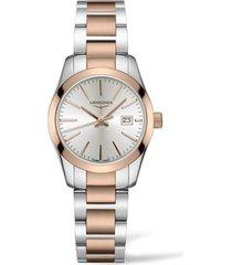 women's longines conquest classic bracelet watch, 29mm