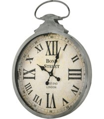 american art decor bond street west end pocket watch wall clock
