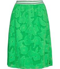 ladies skirt knälång kjol grön garcia