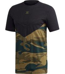t-shirt camouflage block tee