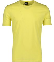 hugo boss t-shirt lecco geel
