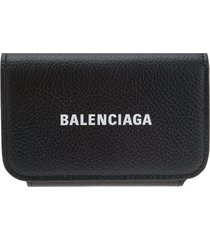 black cash accordeon wallet