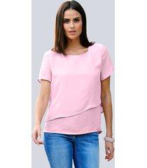 blouse alba moda rozenhout