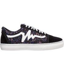 scarpe sneakers donna camoscio galaxi