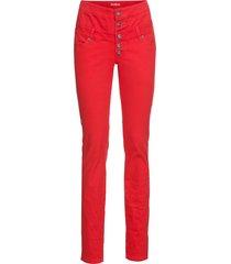pantaloni elasticizzati con bande laterali (rosso) - rainbow