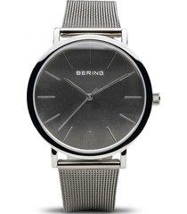 reloj gris bering