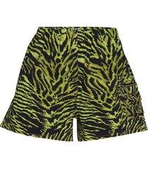 soft tiger shorts flowy shorts/casual shorts grön ganni