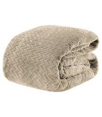 cobertor casal tress 2,20 m x 1,80cm - home style