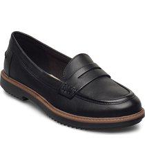 raisie eletta loafers låga skor svart clarks