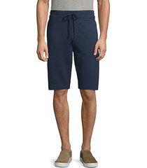 drawstring cotton shorts