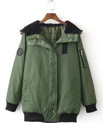 giacche casual pilot giacche a manica lunga con zip donna