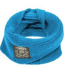 touchdog heavy knitted winter dog scarf