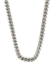 serge denimes scale necklace   silver   s-sca-nec