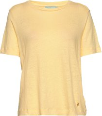 gisella linen tee t-shirts & tops short-sleeved gul morris lady