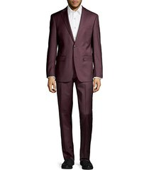 extreme slim-fit wool-blend suit