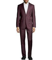 extreme slim-fit wool-blend suit