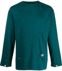 a-cold-wall* drawstring detail t-shirt - green