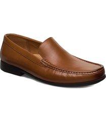 claude plain shoes business loafers brun clarks